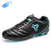 Professional Indoor 34 44 Size Men Soccer Shoes Breathable Long Spikes Football Boots Artificial Grass Ground(AG) Kids Training