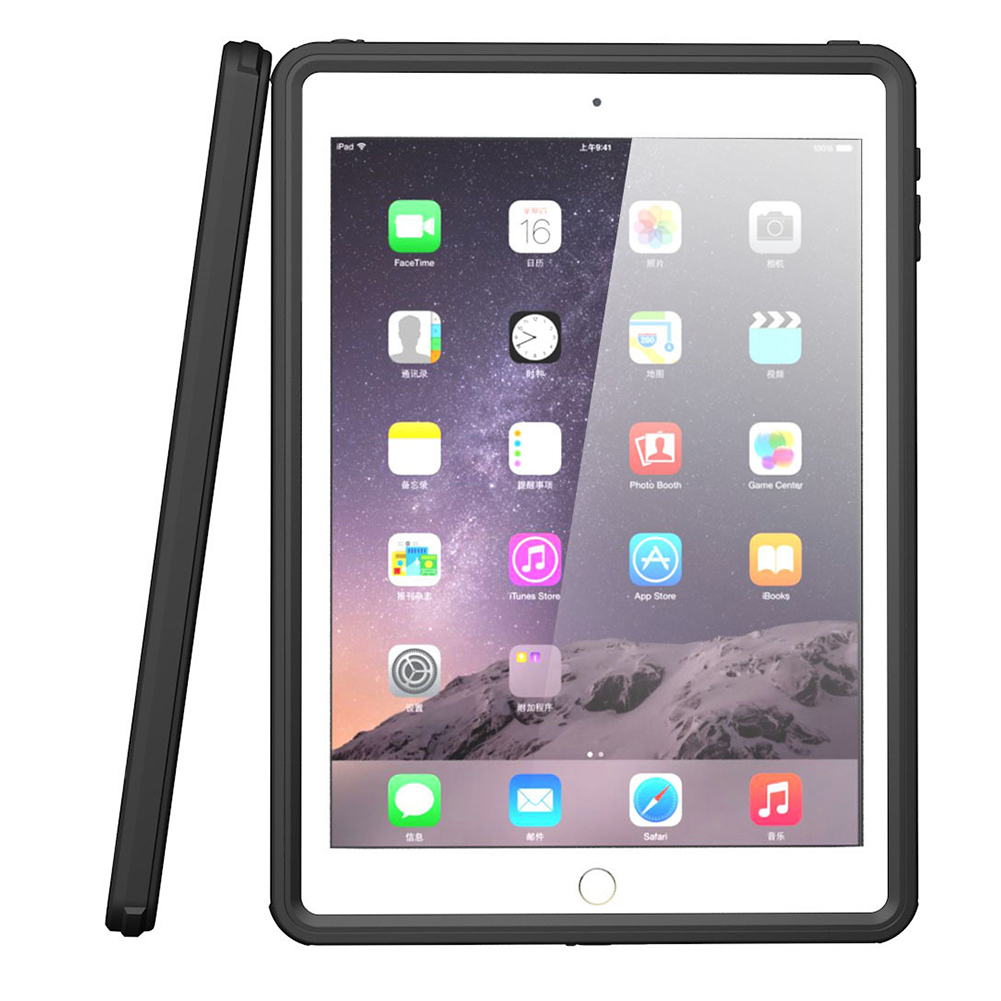 все цены на For iPad Pro Tablet  Waterproof Protective Case Full Cover Protect Sealed Shell for iPad Air 2 for iPad 5 онлайн