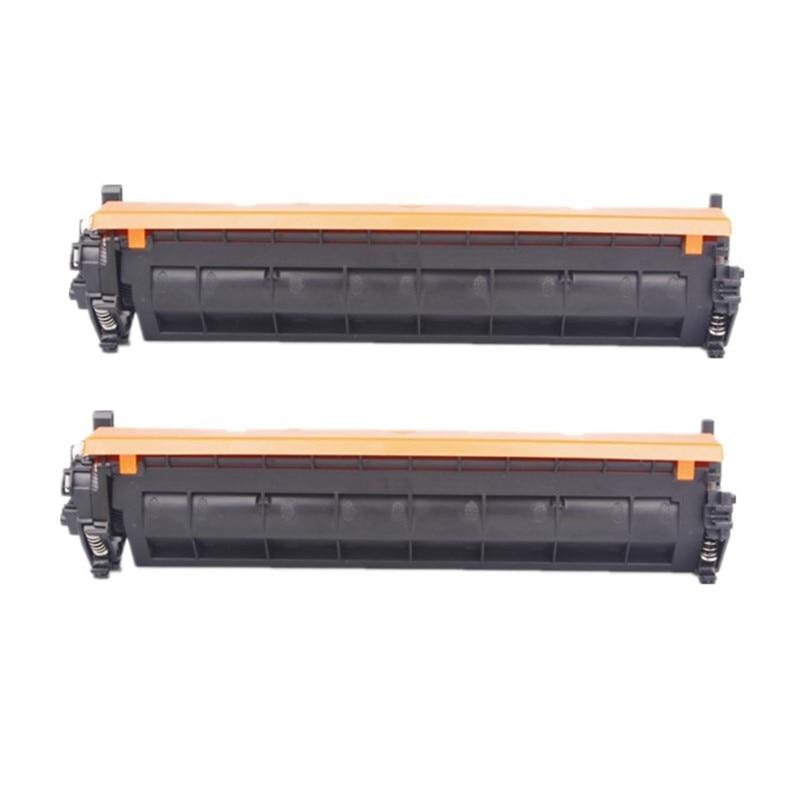 Avec puce 2 pack CF217A 17A 217A Cartouche De Toner Compatible HP LaserJet Pro M102a M102w MFP M130a M130fn M130fw M130nw imprimante
