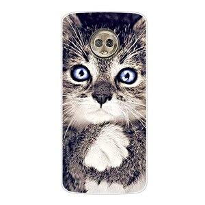 Чехол для телефона Moto G6 G6Plus G6Play, Мягкий Силиконовый Модный чехол с принтом для Motorola Moto G6/G6 Plus/G6 Play, чехлы