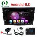 1024*600 HD 2 Din Quad core android 6.0 Dvd-плеер Автомобиля Для Vauxhall/Opel/Antara/VECTRA/ZAFIRA/Astra H G J бесплатный камера заднего вида