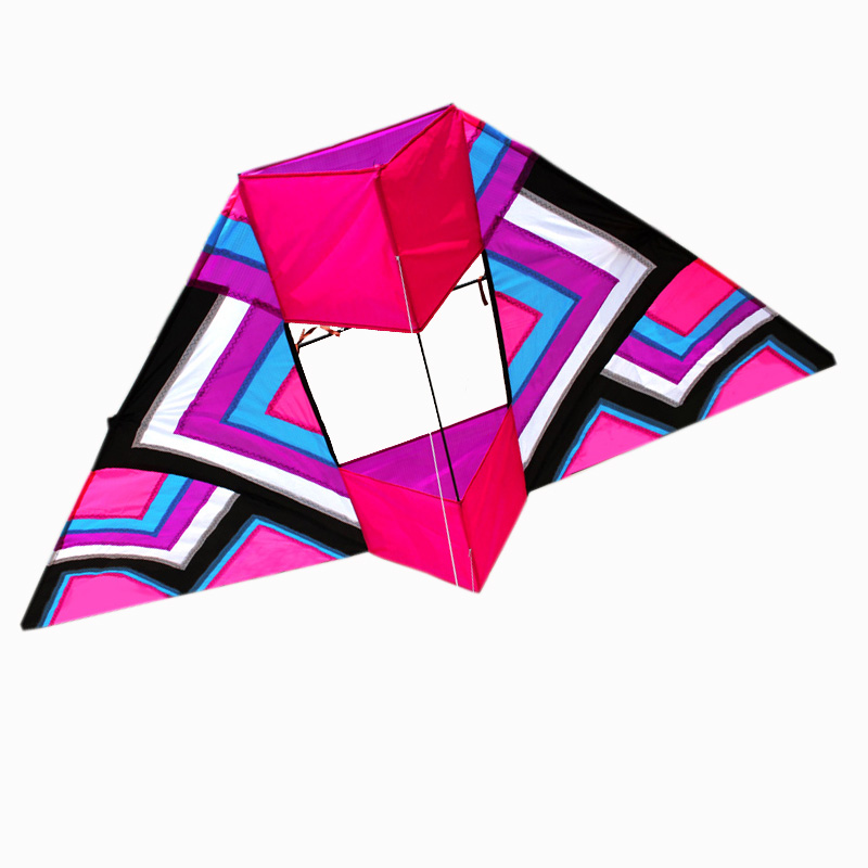 Professional Kite Outdoor Fun Sports 2.4m 3D Power Kite With Handle and Line Good Flying 16 colors x vented outdoor playing quad line stunt kite 4 lines beach flying sport kite with 25m line 2pcs handles