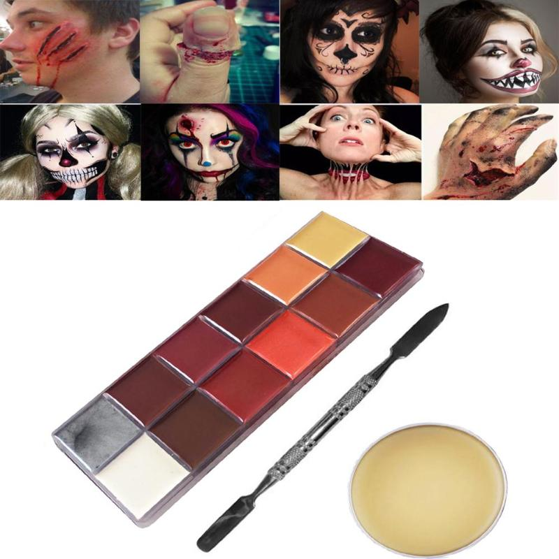 Special Effects Oil Painting Stage Halloween Party Makeup Fake Scars Wax Fake Wound Scars Wax Spatula Tool  -in Body Paint from Beauty & Health on Aliexpress.com   Alibaba Group