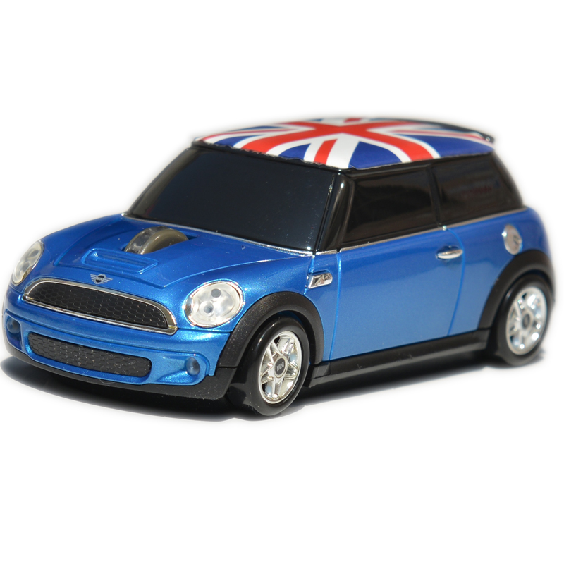 Officially licensed Mini Cooper with union jack wireless mouse best gift for girl friend cool gift