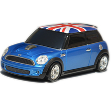 Sous licence officielle Mini Cooper avec l'union jack sans fil souris meilleur cadeau pour fille ami cadeau frais pour les fans de voiture de voiture accessoires