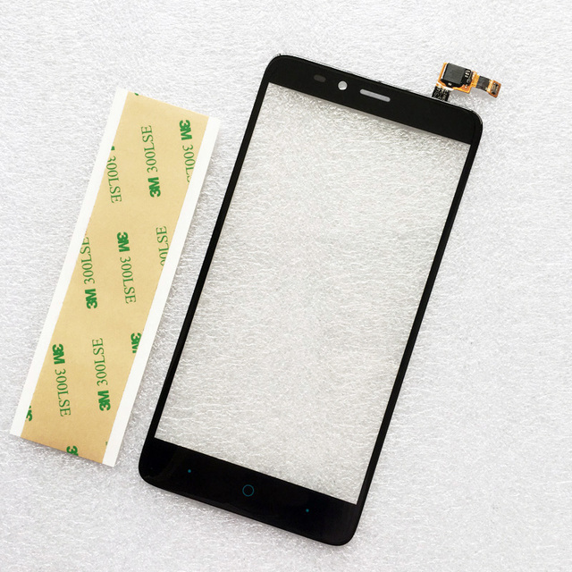 Black Touch Screen For ZTE Imperial MAX Z963 Z963VL Z963U Front Touch Panel Replacement  For zte Digitizer Glass