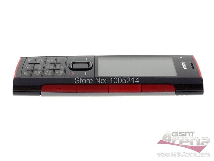 שופץ X2 המקורי של Nokia X2-00 Bluetooth FM JAVA 5MP נעול טלפון נייד משלוח חינם