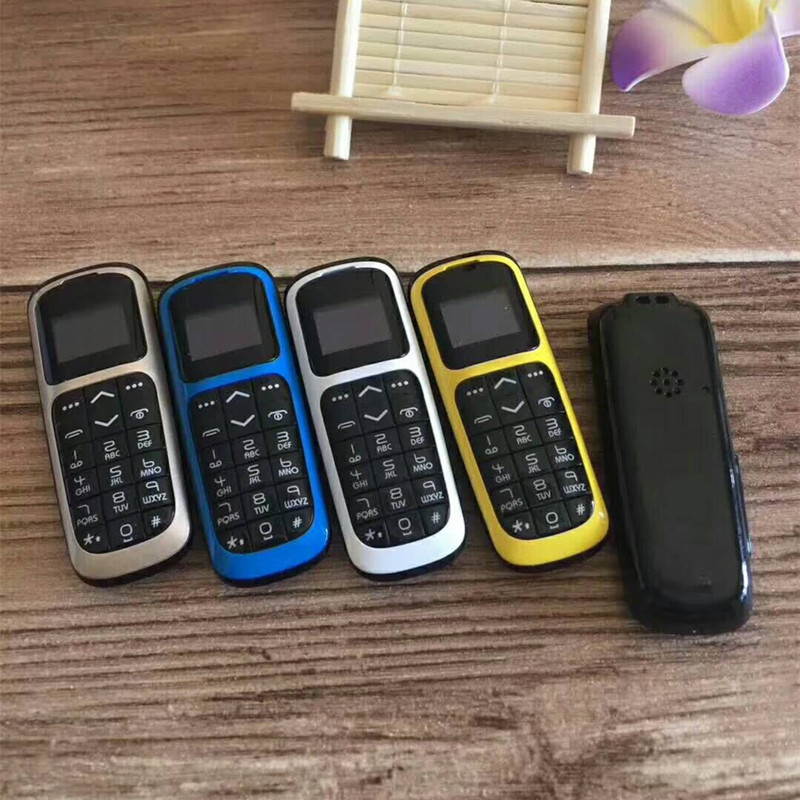 Wholesale low Price 5pcs/lot Original Long-cz V2 Bluetooth Dialer 0.66'' Mini Mobile Phone FM Radio Micro Sim Card PK BM70 KK1