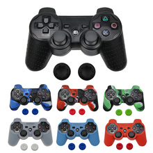 Silicone Cover Case For PS3 Controller Skin Decal Case For Playstation