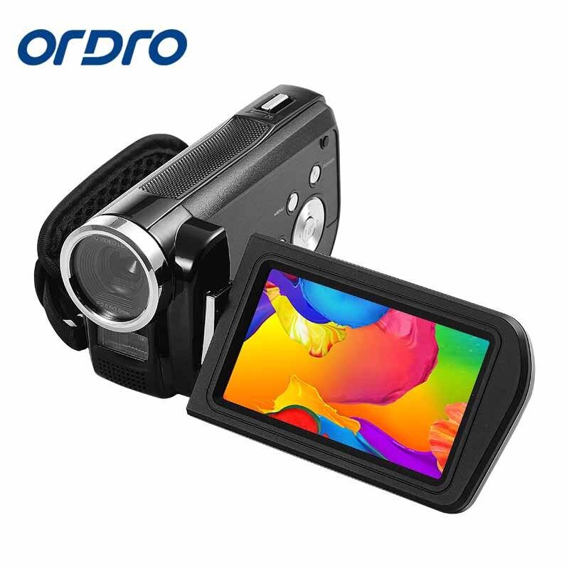 Ordro 3.0 pouces HDV Rotation écran 1080 P Full HD Reflex caméras numériques enregistreur vidéo professionnel 24MP CMOS caméra Photo - 5