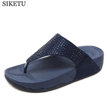 Rhinestone Women Slippers Flip Flops Summer Women Crystal Diamond Bling Beach Slides Sandals Casual Shoes  platform Woman shoes rhinestone women slippers flip flops summer women crystal diamond bling beach slides sandals casual shoes slip on slipper