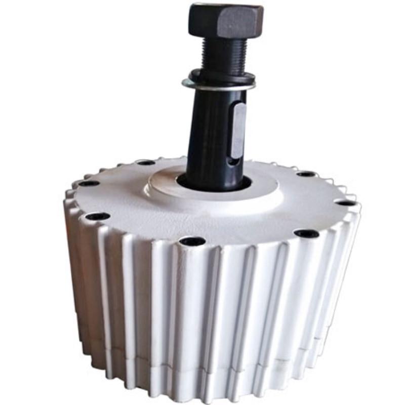 1000 w 48 v gerador de turbina eolica inicio de baixa velocidade ndfeb ima permanente gerador