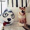 Nooer New Arrival Husky Shiba Inu Stuffed Plush Toy Cute Soft Husky Shiba Inu Stuffed Pillow