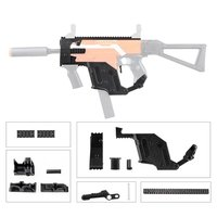 High Strength Plastic 3D Printing Modularized MOD Kriss Vector Imitation Kit Combo A 6 Items for Nerf STRYFE Modify best Toys