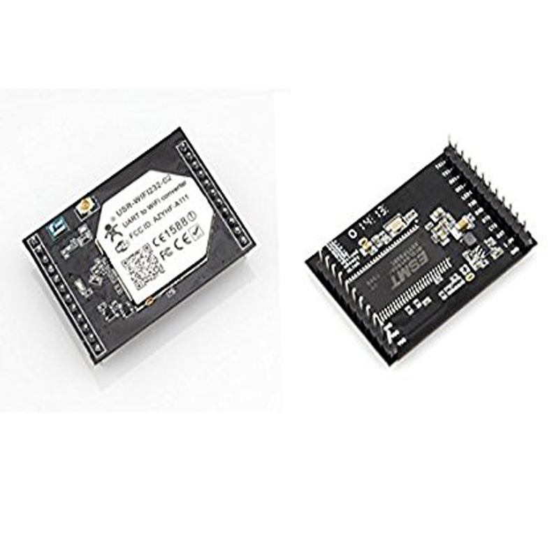 USR-WIFI232-D2a Direct Factory Serial UART to WiFi Module TTL to Ethernet and Wifi Converter Internal Antenna ttl turn rs485 module 485 to serial uart level mutual conversion hardware automatic flow control