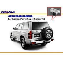 Cámara de Copia de seguridad Para Nissan Patrol Liislee Súper Safari Y61 Luz de la Matrícula del OEM/Visión Nocturna/Cámara de Vista Trasera