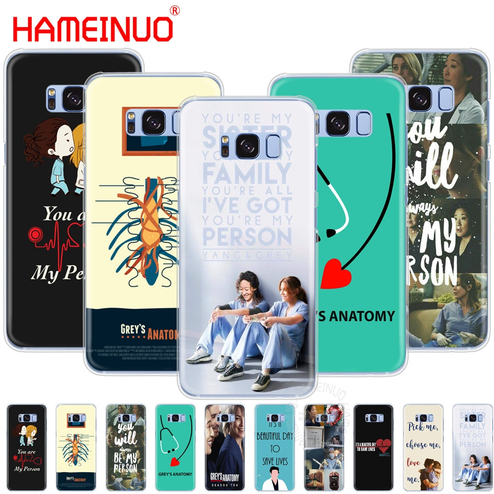 Phone Bags & Cases The Best Ultra Thin Grey Is Greys Anatomy Tempered Glass Phone Cover For Samsung S8 Case S7 Edge Note 9 8 Galaxy S9 Plus S12 Covers Skin