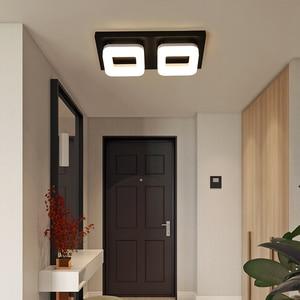 Image 4 - Artpad 12 واط الحديثة مصباح LED للسقف التيار المتناوب 110 فولت 220 فولت ضوء السقف لمطعم فندق الممر الممر شرفة تركيبة إضاءة
