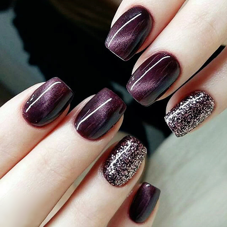 Aliexpress.com : Buy Beautiful purple pure color UV gel ...