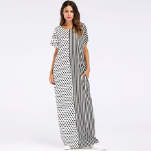#1867039 Fashion Euramerica Style Women Dress with New Loose Arabia Vestidos for Mujer Musulman