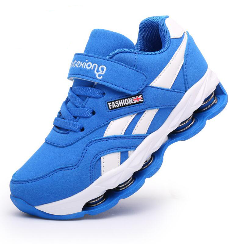 HOBIBEAR 2018 Boys Shoes For Girls Children Shoes Brand Kids Sneakers Sport Fashion Casual Children Boy Sneakers Leather in Sneakers from Mother Kids