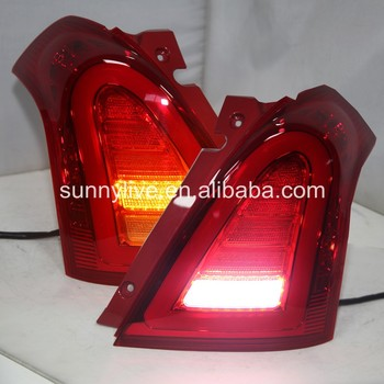 For SUZUKI Swift LED Tail Lamp 2006-2010 Super LUX V4 Type