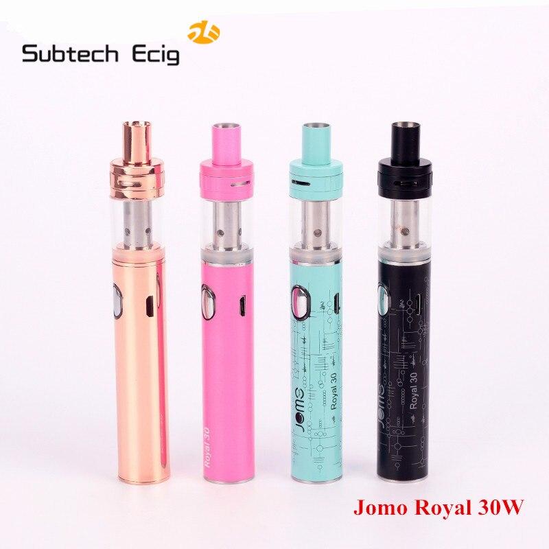 Original JOMOTHECH  Royal 30w Vape Pen  kit  Electronic cigarette  atomizer vape with  E cigarette  mechanical mod  box mod