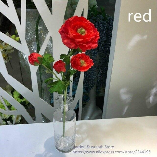 Kunstliche Pfingstrose Hochzeit Tischdekoration Rot Grun Rosa