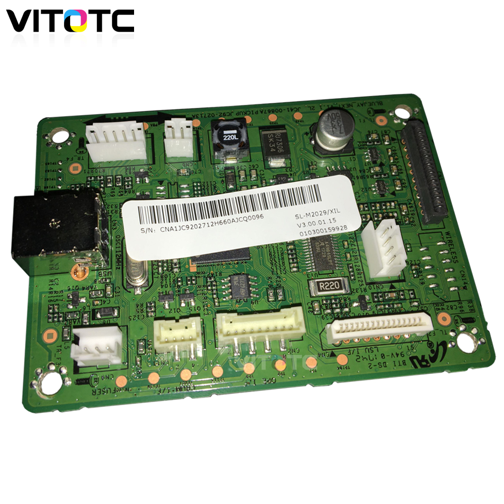 Formatter Board Mainboard D111S For Samsung <font><b>SL</b></font>-M2020 <font><b>SL</b></font>-<font><b>M2020W</b></font> <font><b>SL</b></font> M2020 <font><b>M2020W</b></font> 2020 2020W 2026 2029 W Refill Toner No Need Chip image