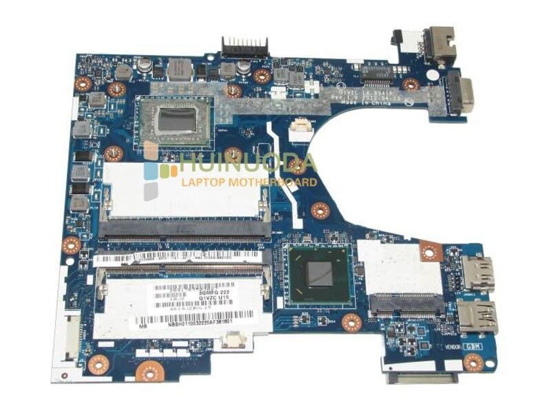 NBSH011003 NB.SH011.003 LA-8941P Main board For Acer 756 Laptop motherboard DDR3 Celeron 877 CPU