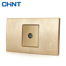 CHINT Electric Socket Connect 118 Type Switch NEW5D Within Block Steel Frame A Television