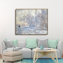 Laeacco Abstract Watercolor Graffiti Wall Art Posters Prints Canvas Painting Nordic Home Decoration Living Room Decor