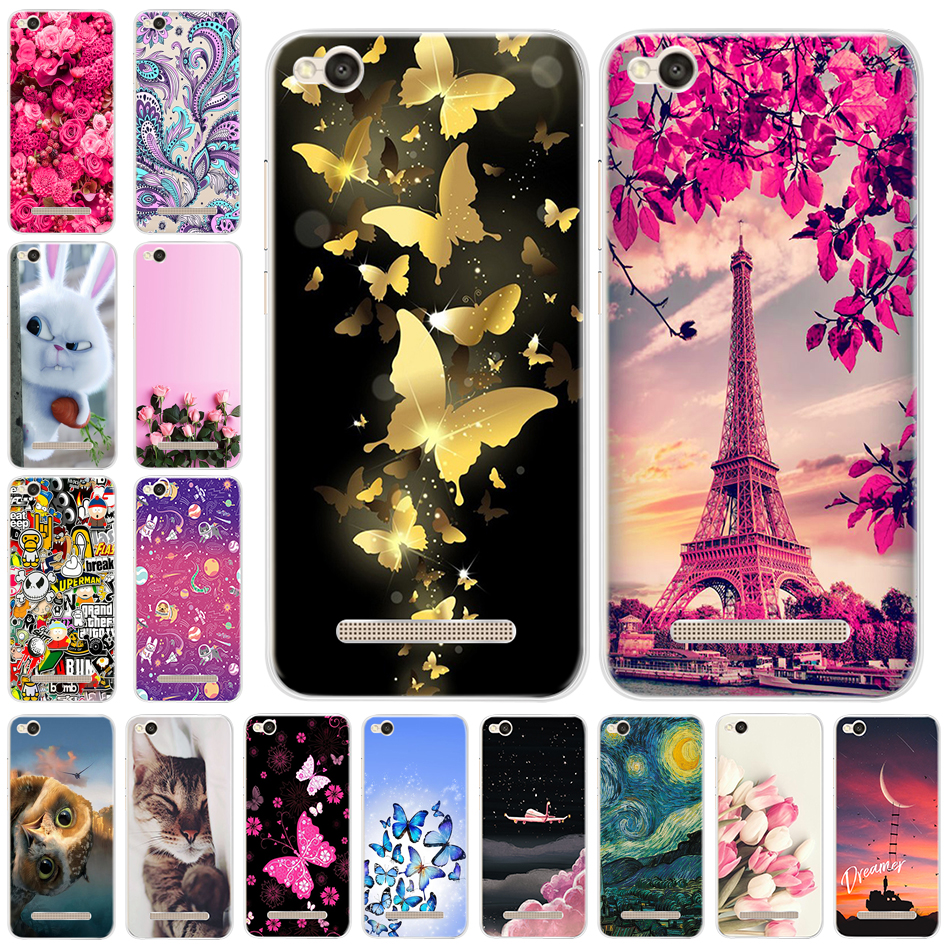 Luxury Fashion For <font><b>Xiaomi</b></font> <font><b>Redmi</b></font> <font><b>4A</b></font> Case 5.0 Silicone TPU Phone Cases For <font><b>Xiaomi</b></font> <font><b>Redmi</b></font> <font><b>4A</b></font> Back Cover on <font><b>Redmi</b></font> A4 4 A Funda Coque image