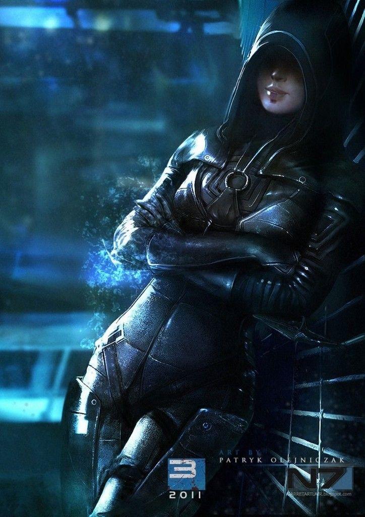 """Mass Effect 2 <font><b>3</b></font> <font><b>4</b></font> Game Poster <font><b>17</b></font>"""" <font><b>x</b></font> <font><b>13</b></font>"""" Decor 109 XZ1698"""