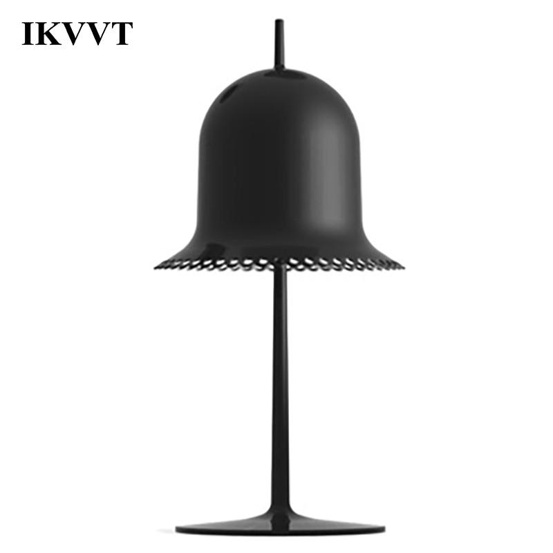 IKVVT Modern Aluminum Desk Lamp Loft Bedroom Living Room Dining Room Office Metal Table Lamp Home Decor Light Fixture