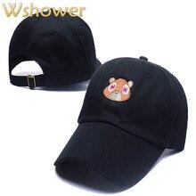 Что в душ Черный Розовый Коричневый белый вышивка Медведь Папа Hat cap повседневная бейсболка хип-хоп лето snapback hat gorras