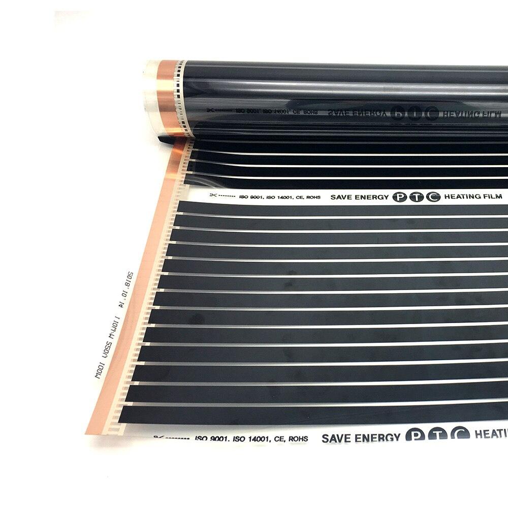 Image 5 - 16M2 遠赤外線カーボン加熱フィルムセット PTC 材料床暖房マットアプリによって制御することができる無線 lan 温度調節床暖房システム & パーツ   -