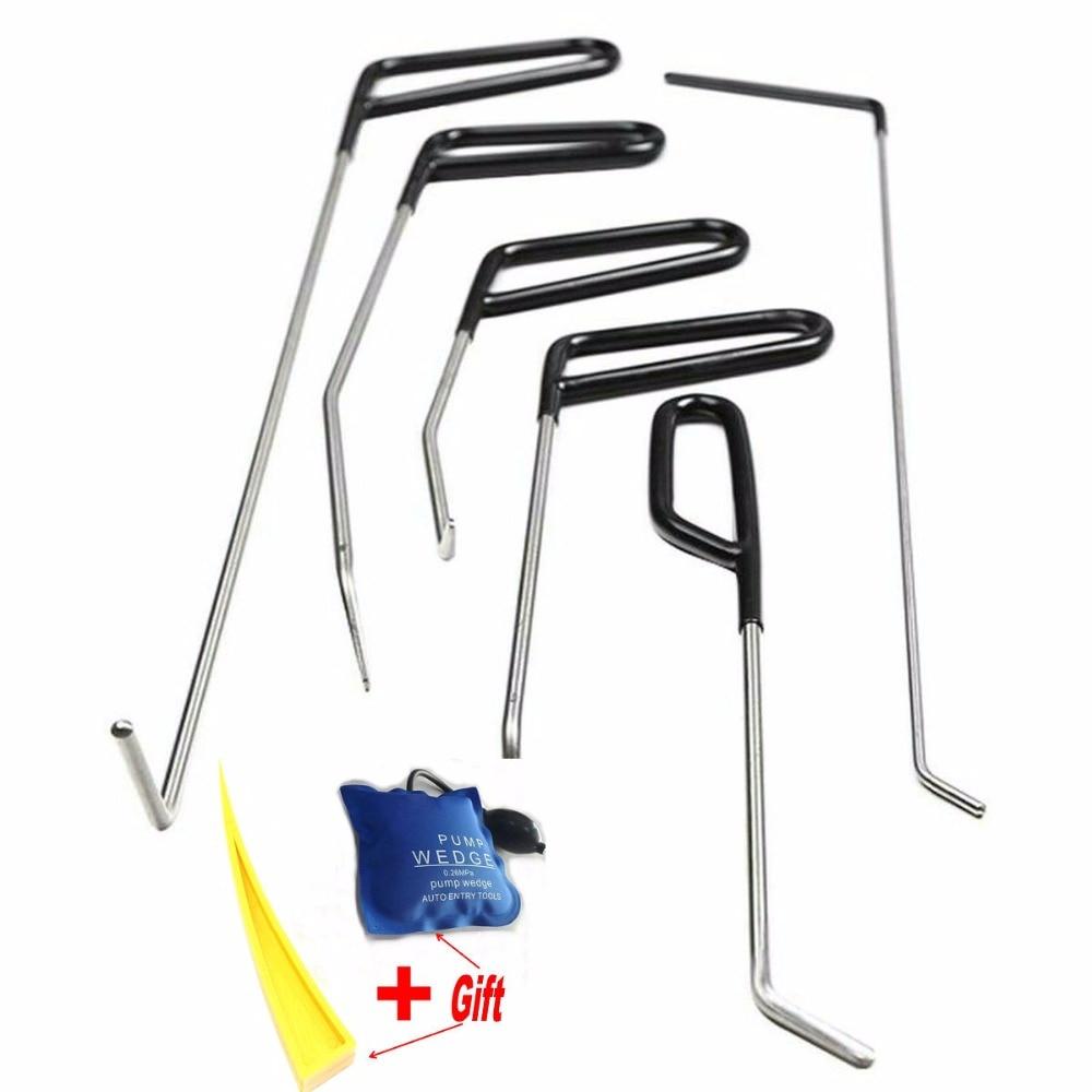 PDR Hook Tools Push Rods Dent Removal Tools Paintless Dent Repair Tools Car-Body Repair Kit Pump Wedge DHL - TNT Free Shipping free shipping by dhl 1piece tda100 bathtub pump 0 75kw 1hp 220v 60hz bath circulation pump