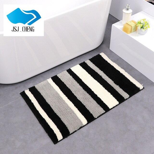 JSJ-CHENG противоскольжения Шаг Коврик Абсорбент Моющиеся Коврики Для Ванной/Floor Carpet Коврик Для Спальни