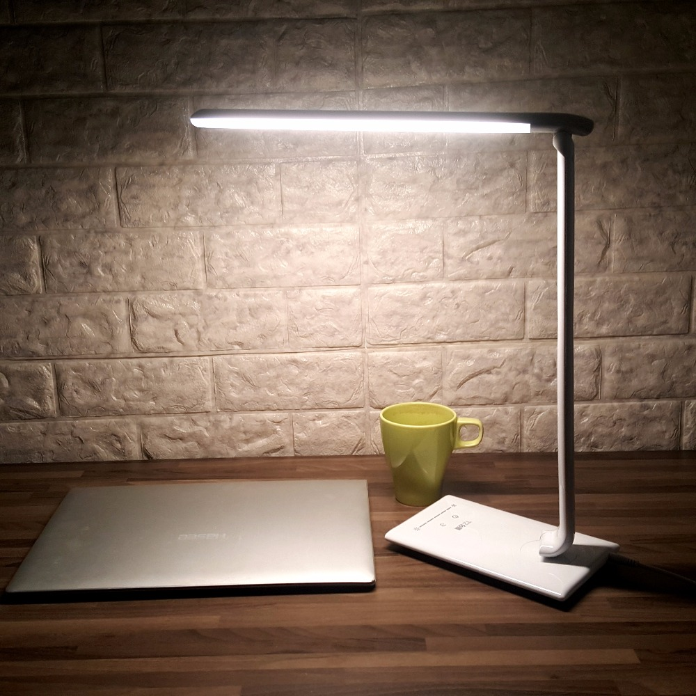 New Folding Led Reading Desk Table Lamp Touch Color Adjustable ...