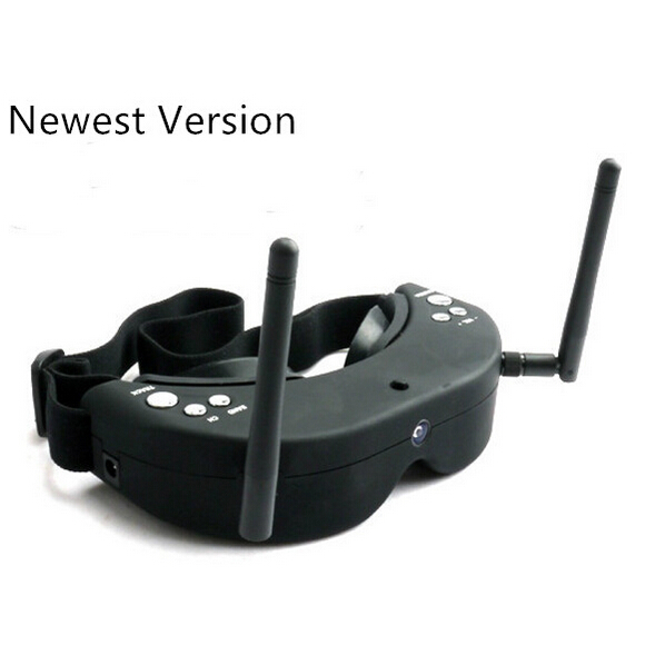New Upgrade SKY01S FPV Goggles 5.8GHz 48CH Dual Diversity 48Channels Receiver With Head-Tracker Auto Search Freque F19135 new fr632 diversity 5 8ghz 32ch auto scan lcd a v receiver for fpv 5 8g tx transmitter