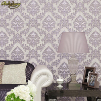 Beibehang 3D Retro Mottled Shades Of European Style Wall Rooms Non Wovens Wallpaper Living Room TV
