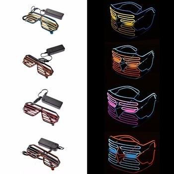 Stylish EDM LED Glasses  1