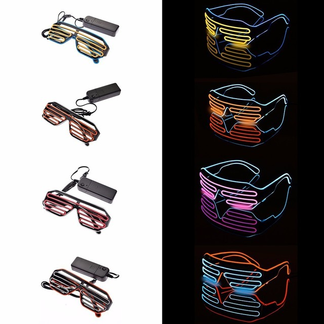 Stylish EDM LED Glasses  1