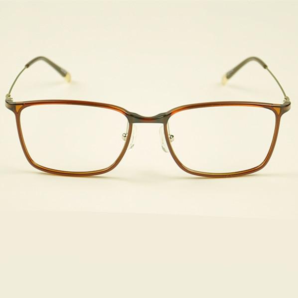 Fashion Square Brillengestell Männer Kunststoff Titan Brillen - Bekleidungszubehör - Foto 3