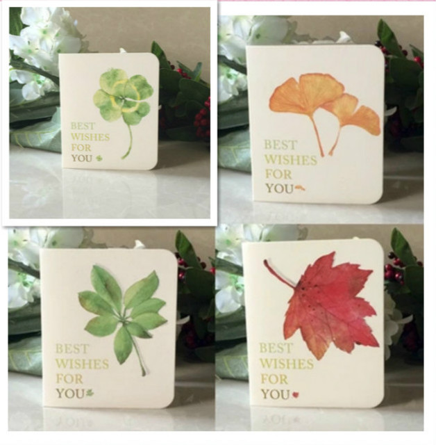 10pcsset 1079cm maple leaves printed greeting cards gift cards 10pcsset 1079cm maple leaves printed greeting cards gift cards florist paper m4hsunfo