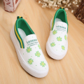2016 spring and autumn new female white small fresh low to help flat shoes women casual fashion canvas shoes a pedal lazy shoes