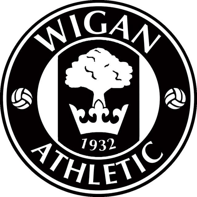 Wigan Athletic Fc Club Badge Football Wall Car Sticker Decal Art Gym