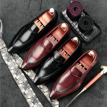 High Quality Brand Luxury Designer Men Business Boat Flats Casual leather Shoes Men Genuine Leather Loafers Driving Shoes II-74