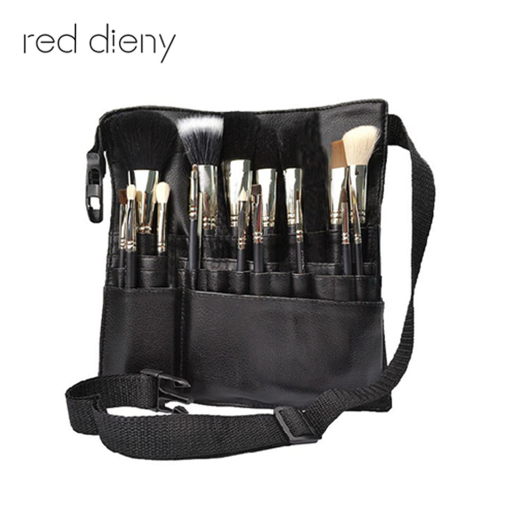 3f1132cab1 New Artist Makeup Brushes Pouch Makeup Bag Waist Brush Bag Artist Belt  Strap Professional Protable Make